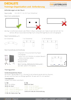 Checkliste Training Organisation Anforderungen fs-Seite 1