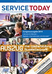 SERVICE TODAY Ausgabe 5/2014 Dezember me Weiterbildung
