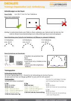 Checkliste Training Organisation Anforderungen mm_Seite_1