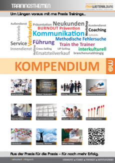 Kompendium me Praxis Trainings 2015-2